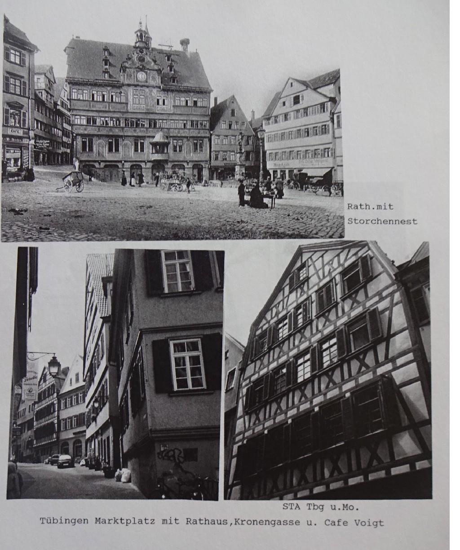 Marktplatz und Kronengasse, Café Voigt