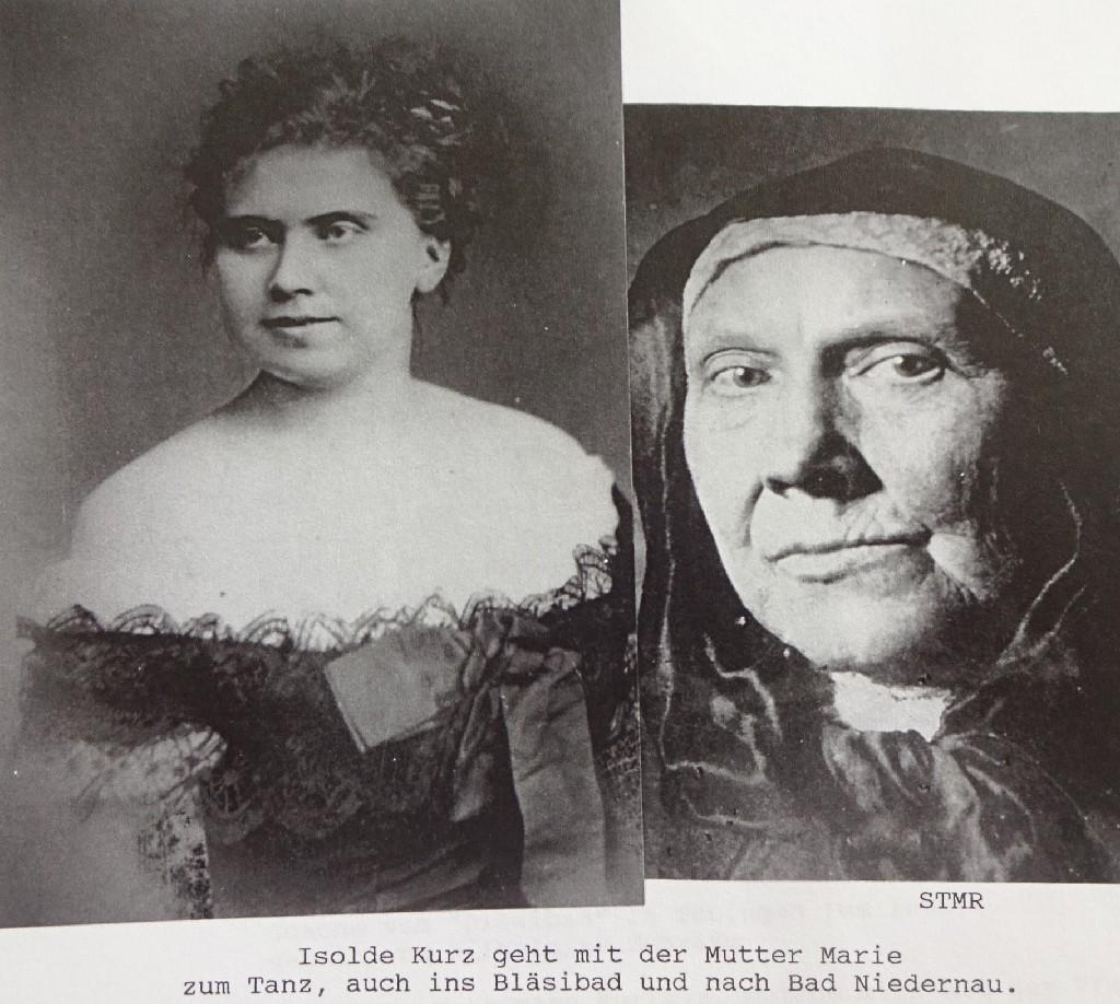 Isolde und Marie Kurz