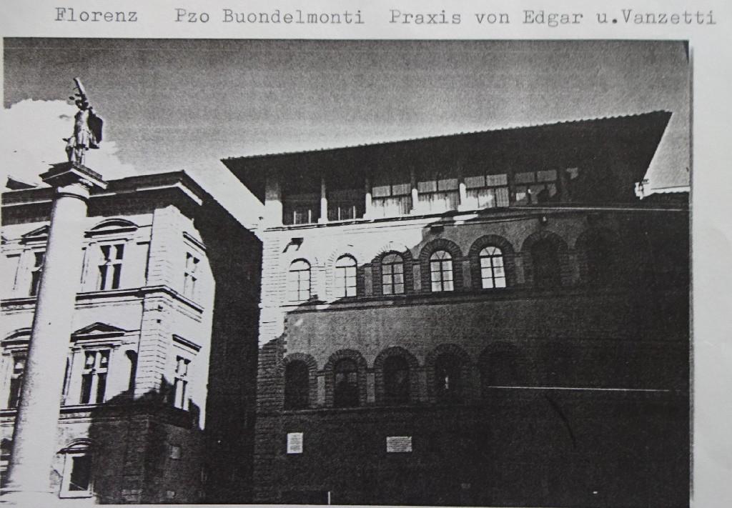 Pzo Buondelmonti, Praxis von Edgar