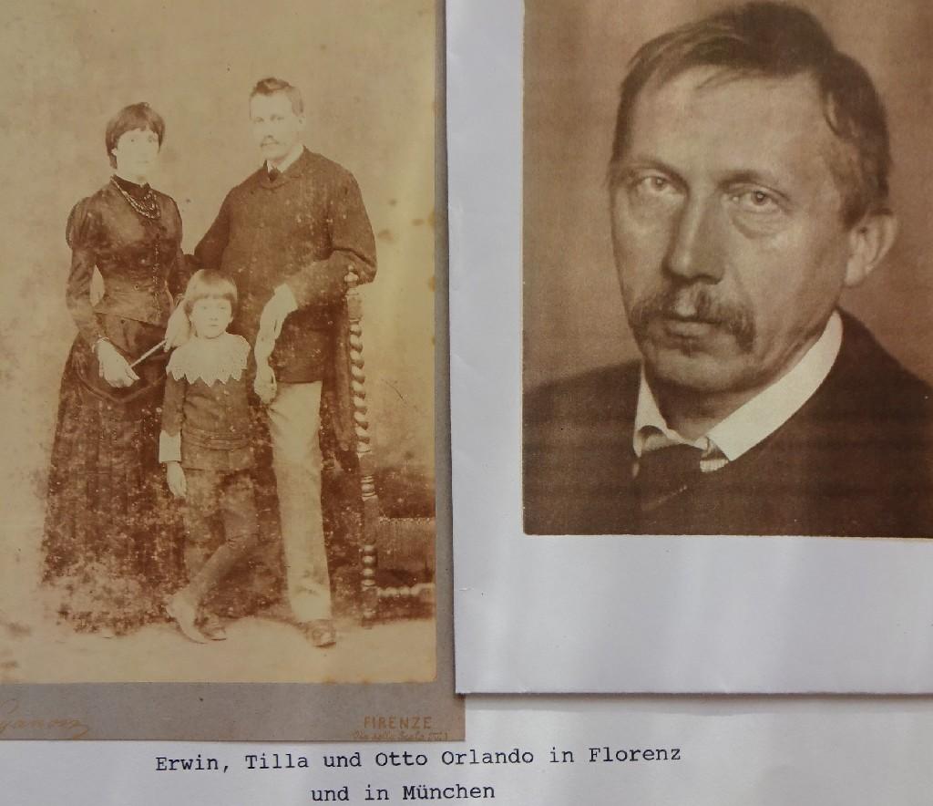 Erwin, Tilla und Otto Orlando
