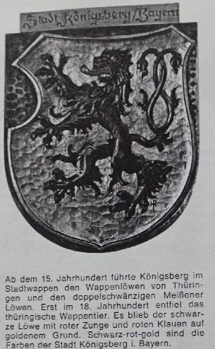 Königsberger Wappen