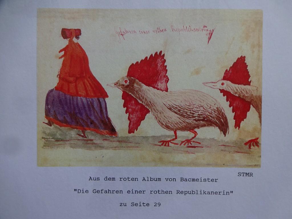 Aus dem roten Album von Bacmeister