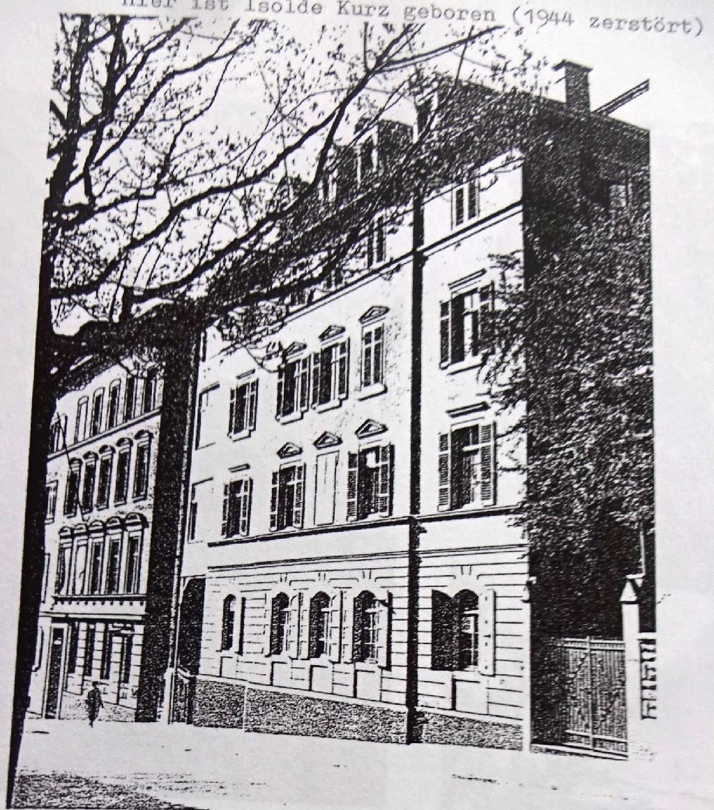 Geburtshaus von Isolde Kurz