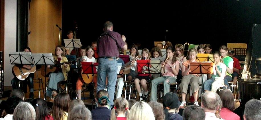Klassenorchester 5b